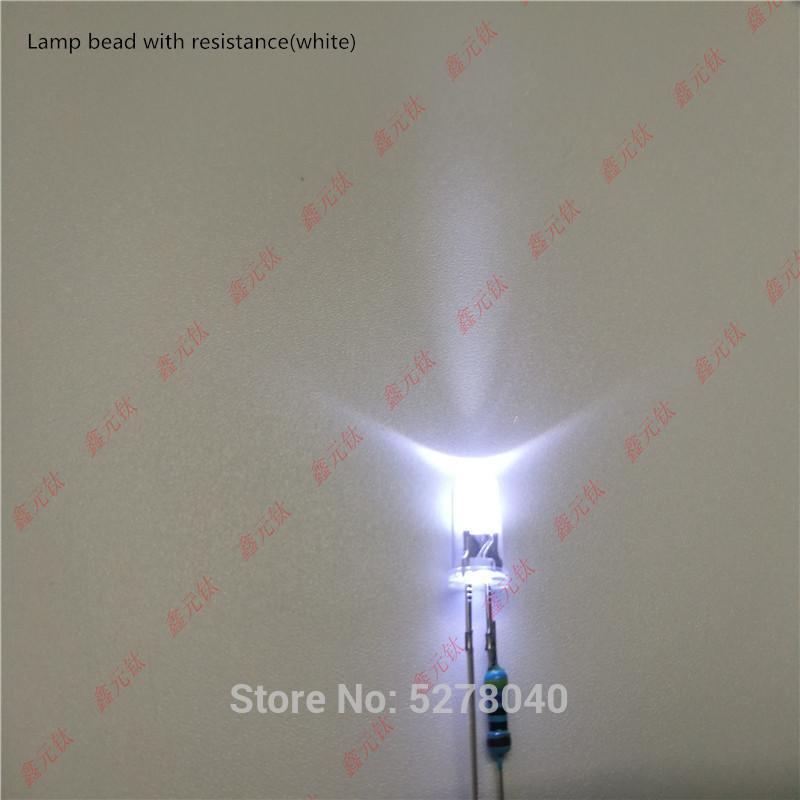 5 V / 12 V / 24 V LED Aydınlatma Boncuk 5mm Kırmızı Sarı Mavi Yeşil Beyaz Pembe Sıcak Whtie Turuncu Mor Buz Mavi Konsantre 50 adet / grup