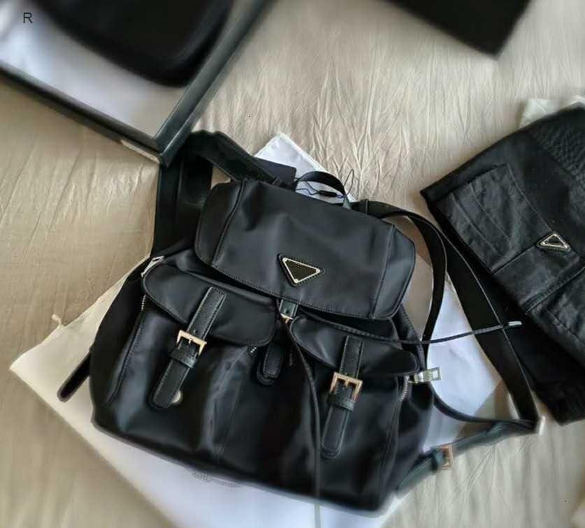 Mochilas de calidad de la moda Grande nuevo bolso de estilo de mujer Capacidad de los bolsillos de preppy Interior grande alto negro con caja de regalo #shelala jmwfn