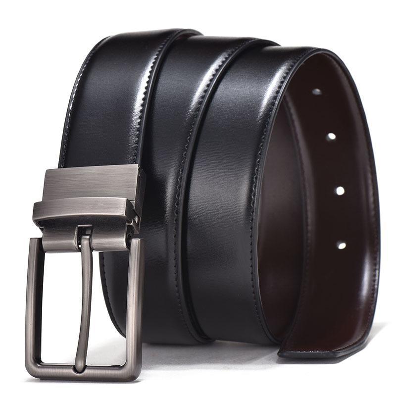 Belts Men High Quality Genuine Leather Belt Luxury Designer Cowskin Fashion Strap Male Jeans For Man Cowboy Waist