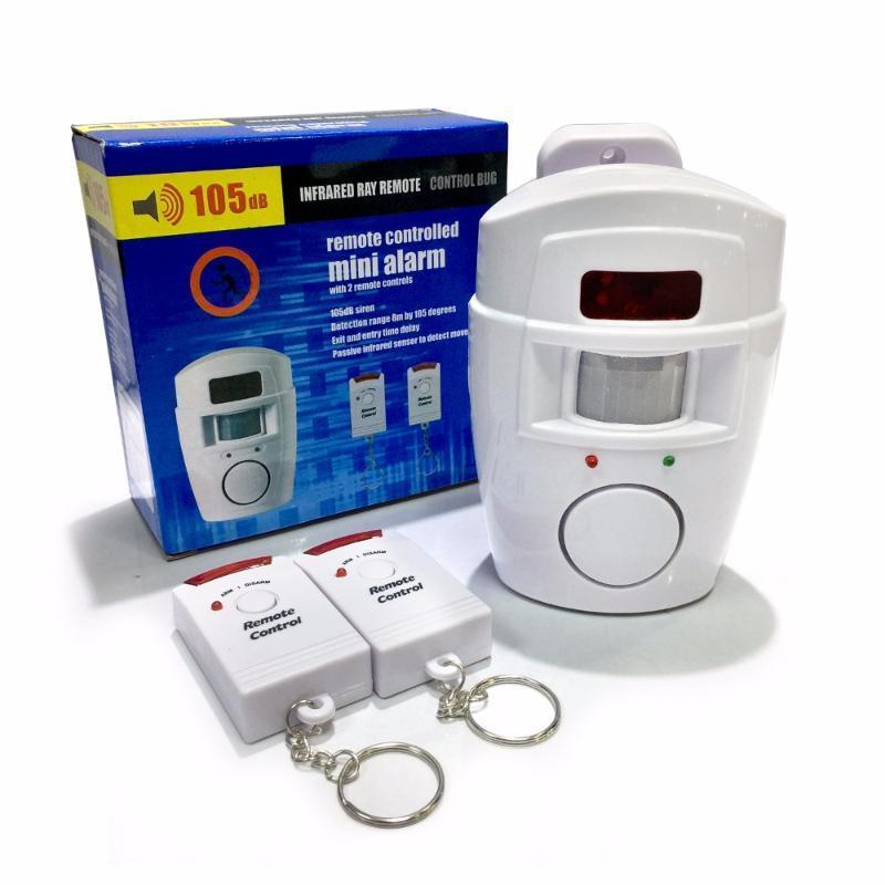 Sistemi di allarme Alert Alert Sensore a infrarossi Anti-Feft Motion Detector Monitor Sistema wireless + 2 telecomando