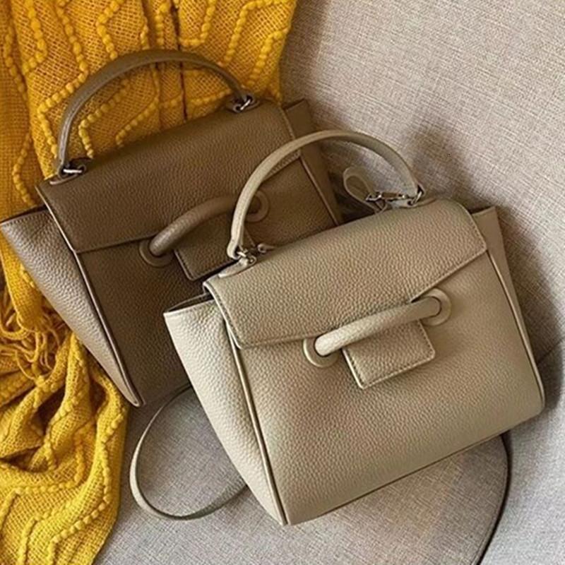 Роскошный пакет Новый Lychee Pattern Head Packfish Мода Одно плечо Наклон Крест Портативная Большая Емкость Кожаная Сумка для Женщин