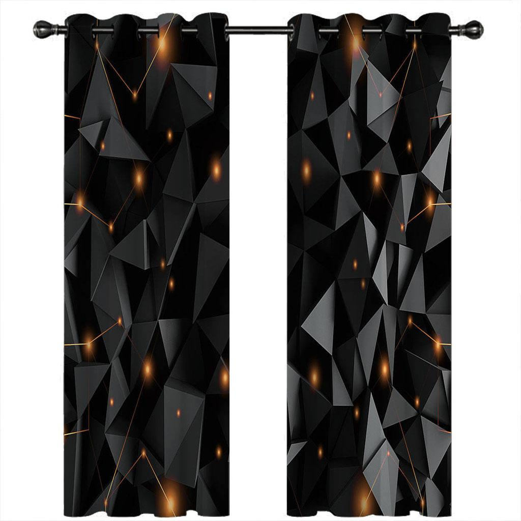 2021 европейская роскошь Blackout Printry Transain гостиная спальня 3D занавески стены окна творчества фото драпировки