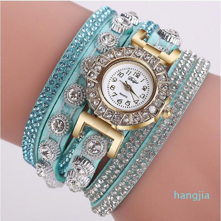 Wholesale 30PCS Mixed Color Fashion 22mm x 7mm 23g Quartz Ladies Watch Women's Children's Students Watches Casual Wristwatches CH029