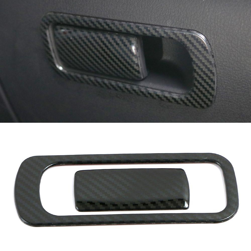 Для Mazda CX-30 Auto Автомобильные аксессуары Пассажирский сидений перчатка коробка ручка крышки обрезания рамки наклейка интерьера украшения