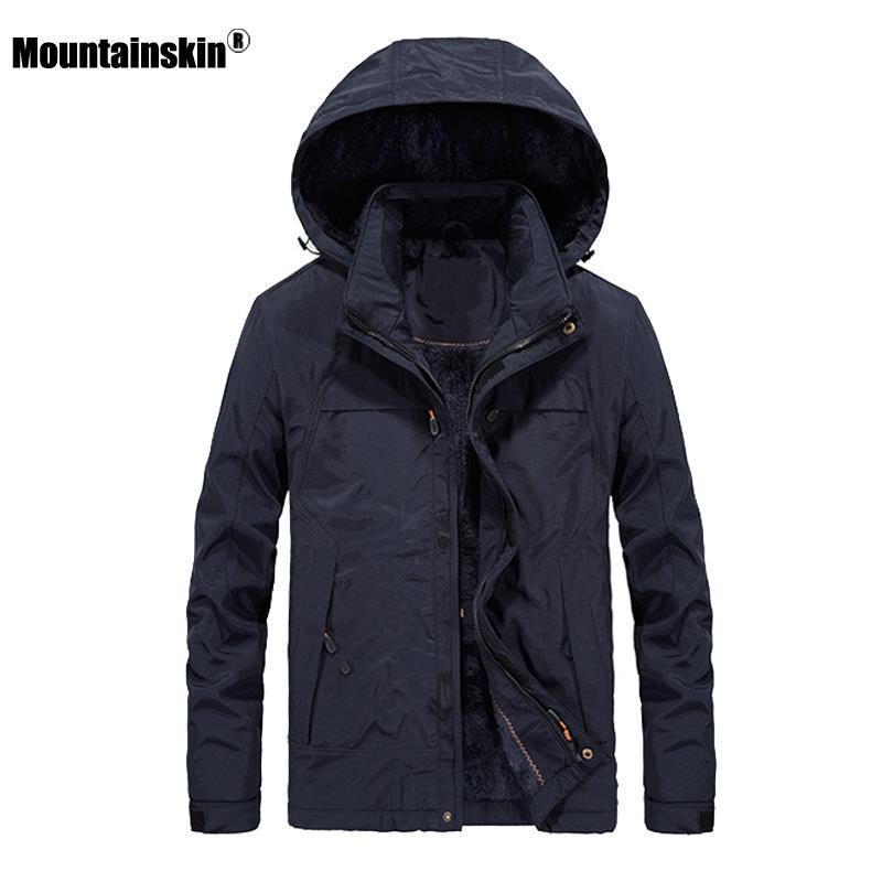 Mâle nouvelle marque 2021 hiver SA655 Hommes à capuche Hommes Vestes de mode Vêtements d'extérieur à coupe-vent Mans Couvertures Vêtements Casual FBUIK
