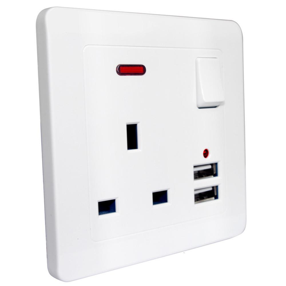 HONG KONG Version 13A British Standard Standard Commutateur USB Câblage d'alimentation standard britannique, interrupteur de câblage à domicile, Singapour Général
