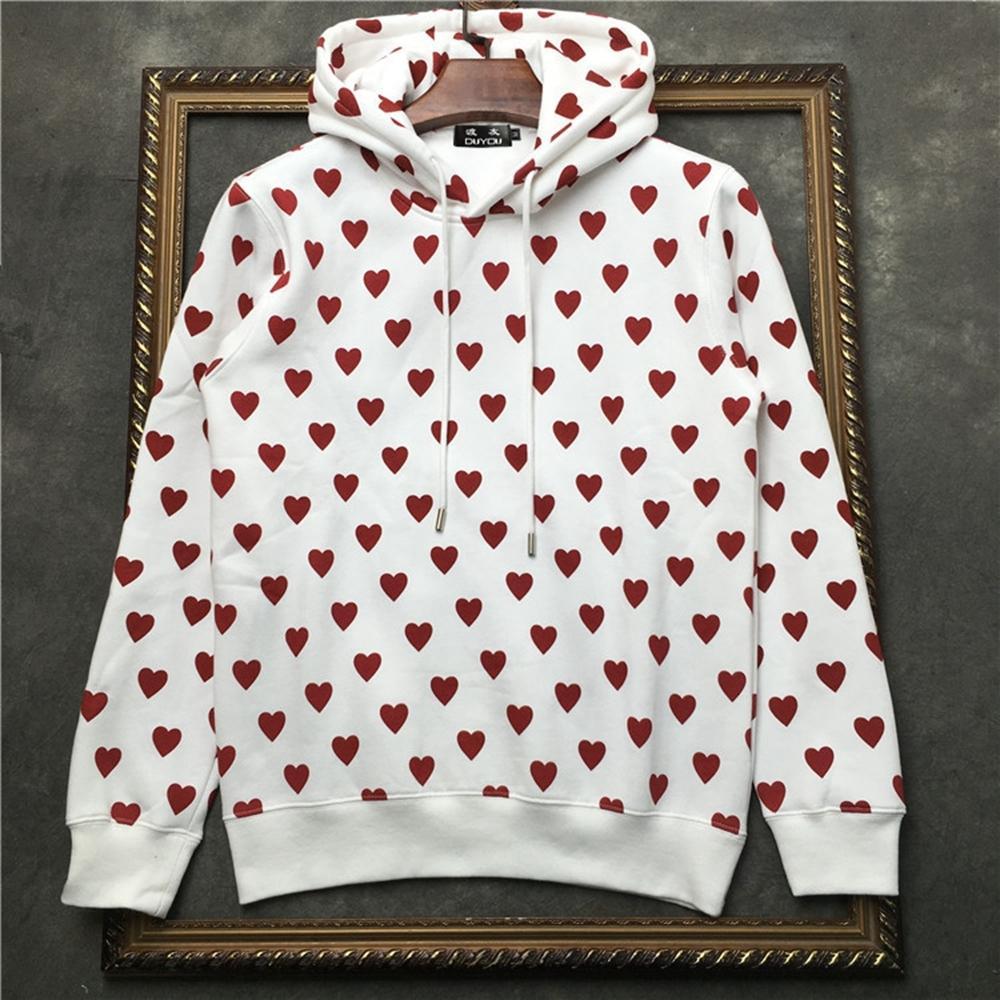 2021 New 100% Algodo Masculino Com Capuz Em Todo o Corao Impresso Pulver Moletom Sweaterwear Dd   41935d522 30ap