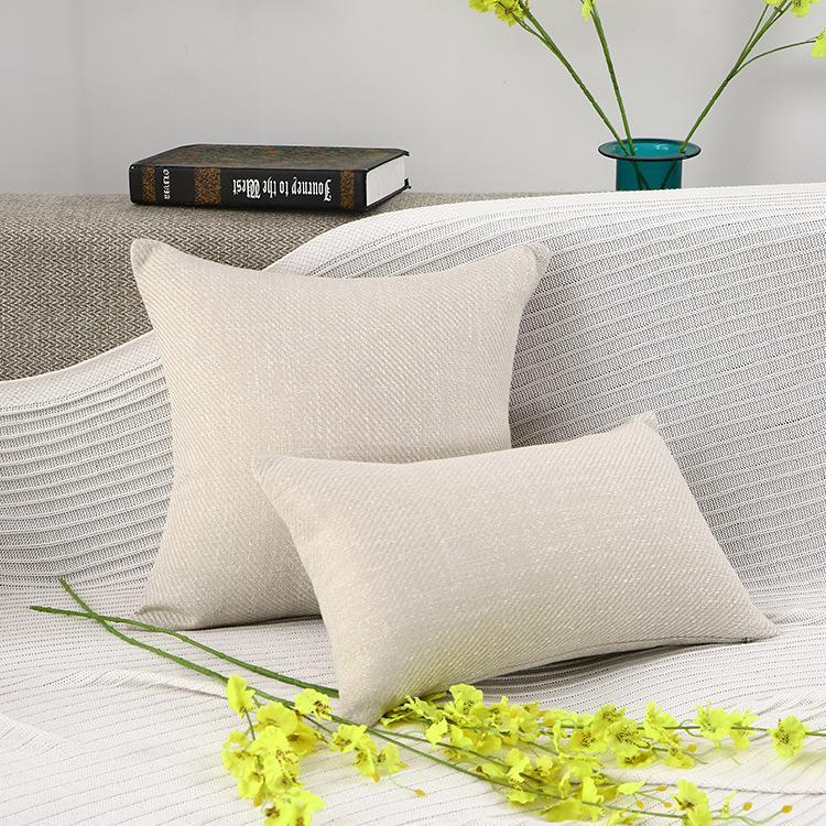 X282 Küçük Taze Kucaklama Yastık Dikey Şerit Süet Yastık Örtüsü Ev Eşyaları Hug Yastık Kılıfı Katı Renk Yastık ASDF Kapakları