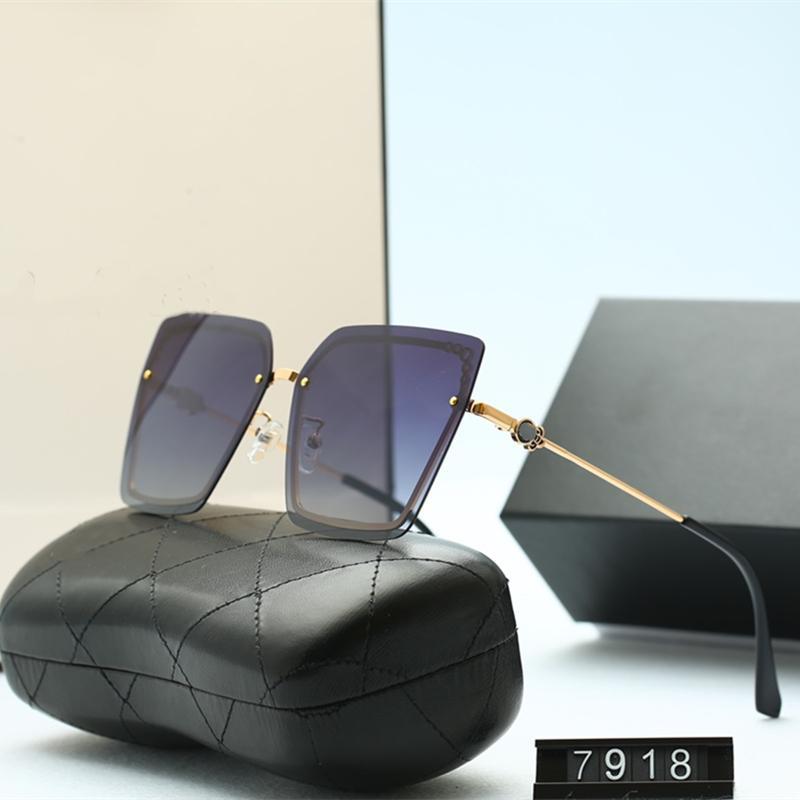 خمسة ألوان العصرية بدون شفة القط العين نظارات للنساء جودة عالية hd الاستقطاب العدسات الأزياء عارضة القيادة نظارات مع حزمة 7918
