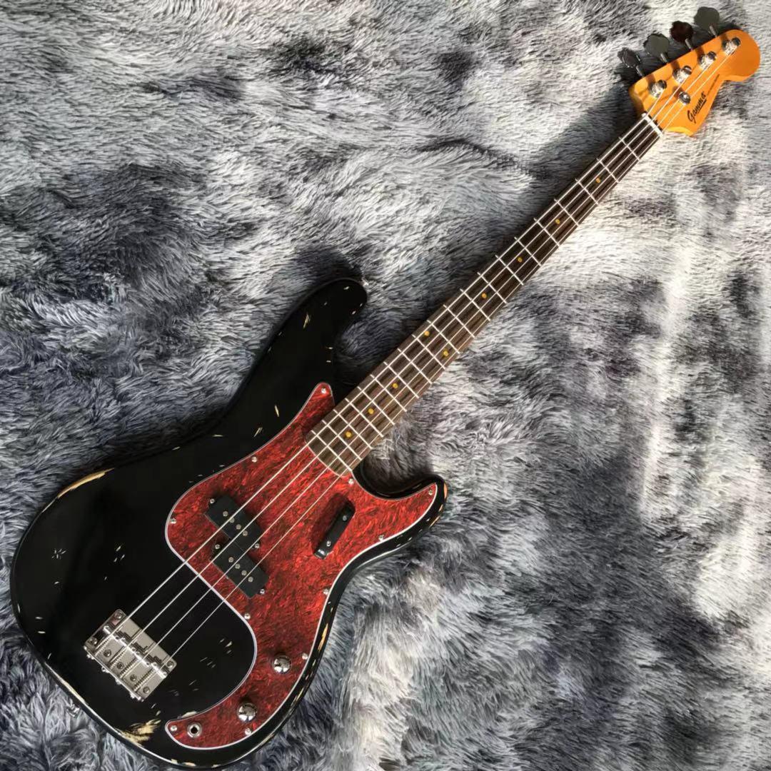 Özel 4 dizeleri elektrik bas gitar