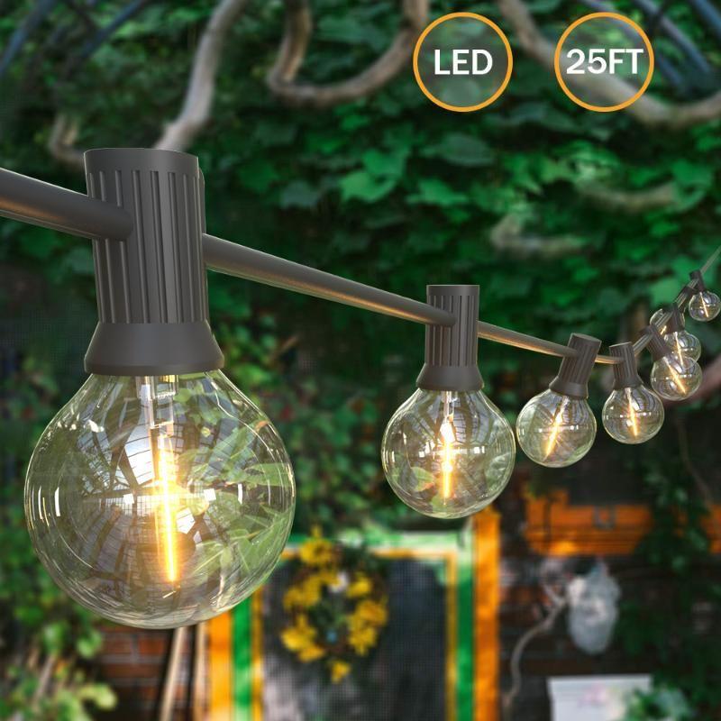 25FT LED Luzes Fadas de Fada Corda de Fada Luz LED Globe Festo de Bulbo Fada Luz de Fada Festa de Jardim