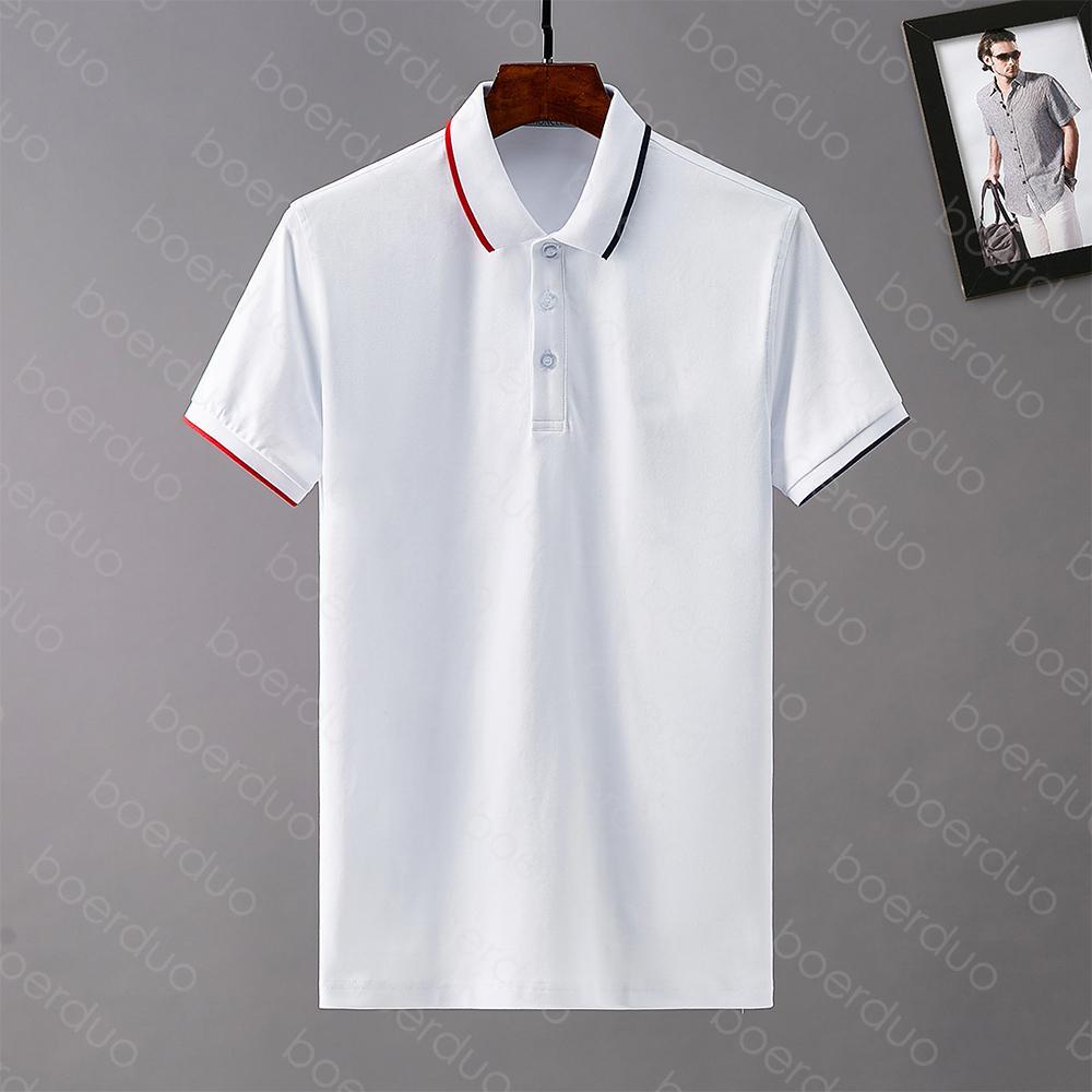 2020 Italia Designer Designer Polo Camicie uomo High Street da ricamo Giarrettiera Marchi di stampa Top Quality Cotom Abbigliamento Tees Bnyt