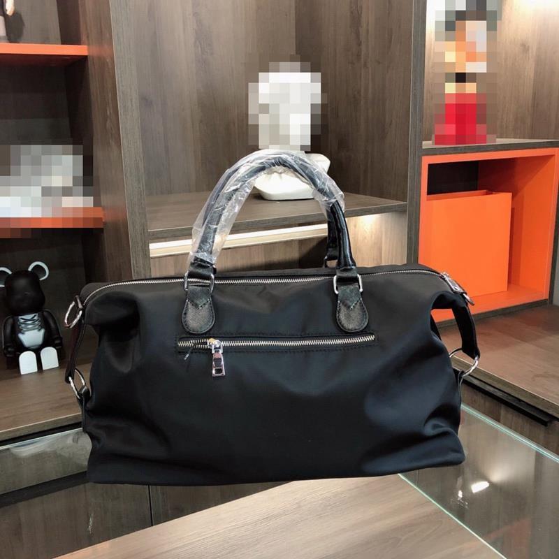 Kolu ve Ofis Çanta Adam Laptop Çantaları Üçlü Siyah Naylon Rahat Deri Tote Iş Erkek Elbise Bilgisayar Çantası Briefacases Moda M Olud