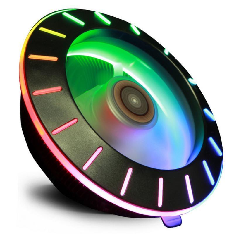 Fans Kühlungen PC Computer Wasserkühlung Zubehör UFO X120 3Pin CPU Cooler Lüfter Radiator Desktop Beleuchtung Ruhiges System
