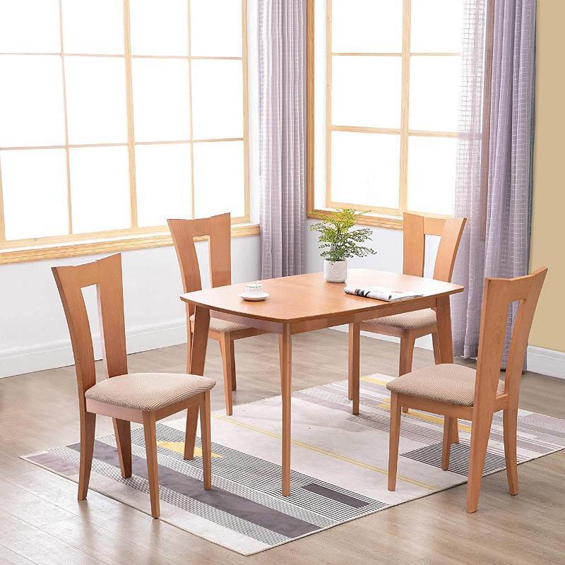 Чехлы для стула 1 шт. Для обеденной подушки квадратная форма съемный чистый цвет спандекс эластичный противоопуский
