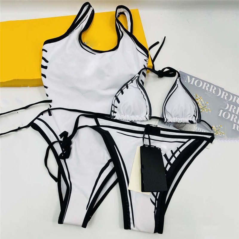 أزياء طباعة إمرأة ارتداءها ملابس السباحة مثير الرسن السيدات بيكيني مجموعة الصيف في الهواء الطلق السباحة قطعة واحدة ملابس السباحة