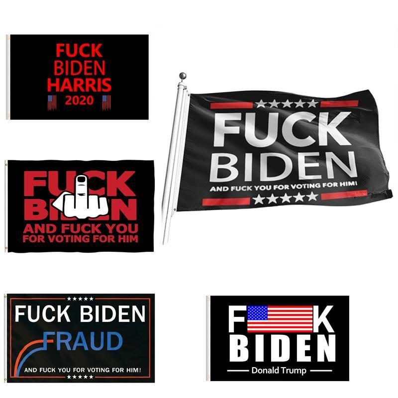 DHL 9 Styles Biden Vlag 90 * 150cm Biden is niet mijn president Banner Gedrukt Biden Harris Polyester Flag Banner