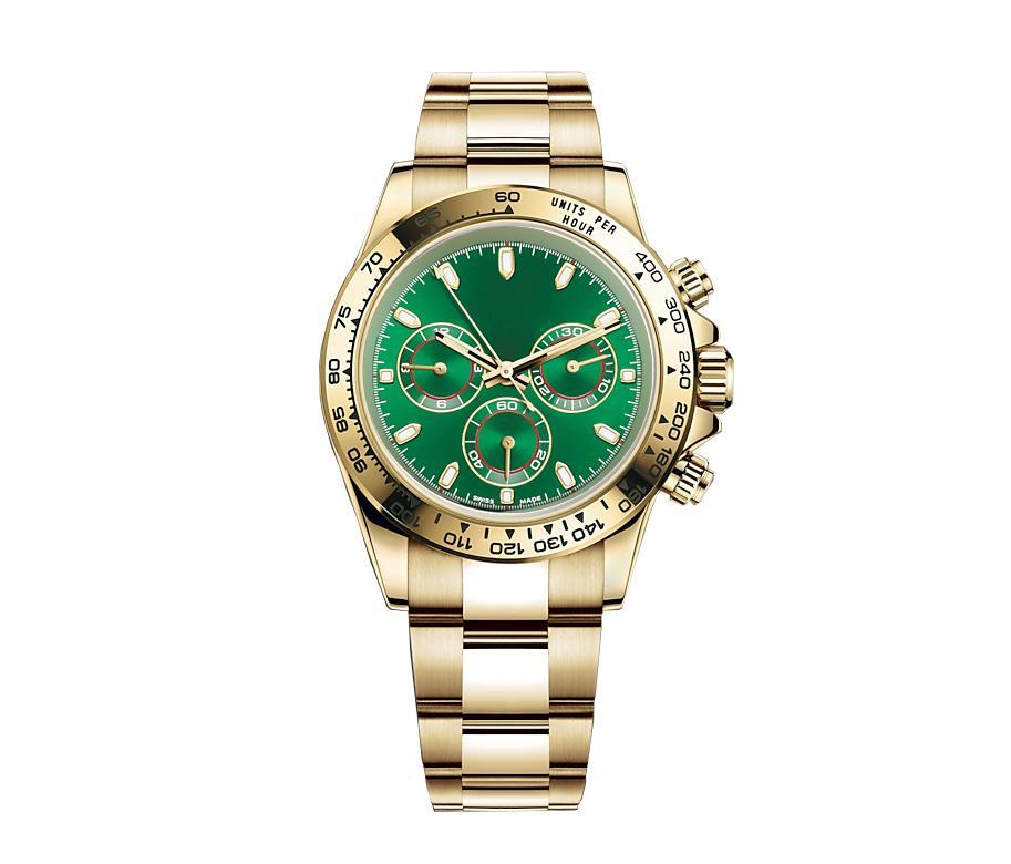 멀티 기능 스포츠 시계 남자와 같은 여자 망 자동 기계적 손목 시계 선물 릴로 그 릴로그 리오 박스 무료 가장 빠른 우주선