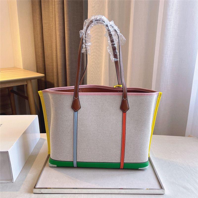 المرأة كبيرة تسوق حقائب اليد أكياس الأزياء سعة كبيرة المتسوق في الهواء الطلق مصمم حقائب اليد حقيبة كتف إلكتروني T Luxurys حقيبة يد