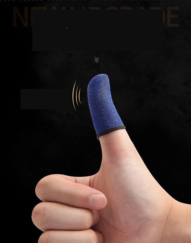 スマートフォンのタッチ画面の指先モバイルゲームロッカースリーブのための指先スリーブ1200PAIR /ロット
