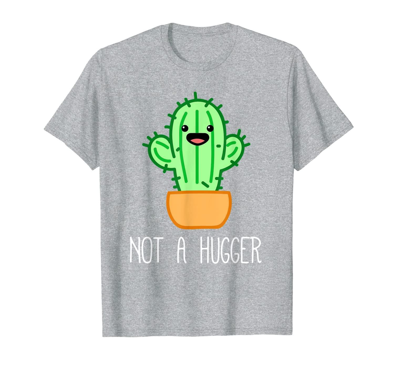 Not a Hugger Cactus   Cute Kawaii Do Not Hug Meme T-Shirt