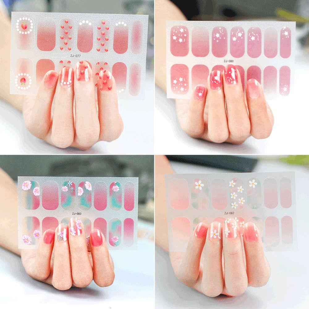 Zhengxiang New Flower Crystal 14 Japanische und koreanische Maniküre schwangere Frauen können Nagelaufkleber verwenden