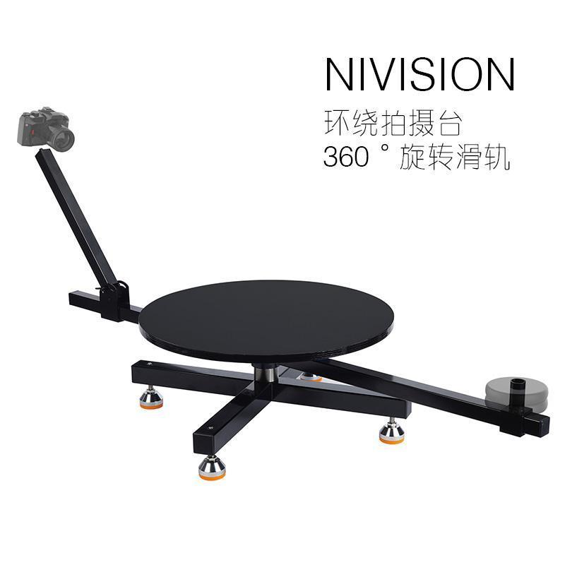 Tripé heads nivision toca-discos display stand Noiseless mesa de rotação relógio jóias, terno para pessoas
