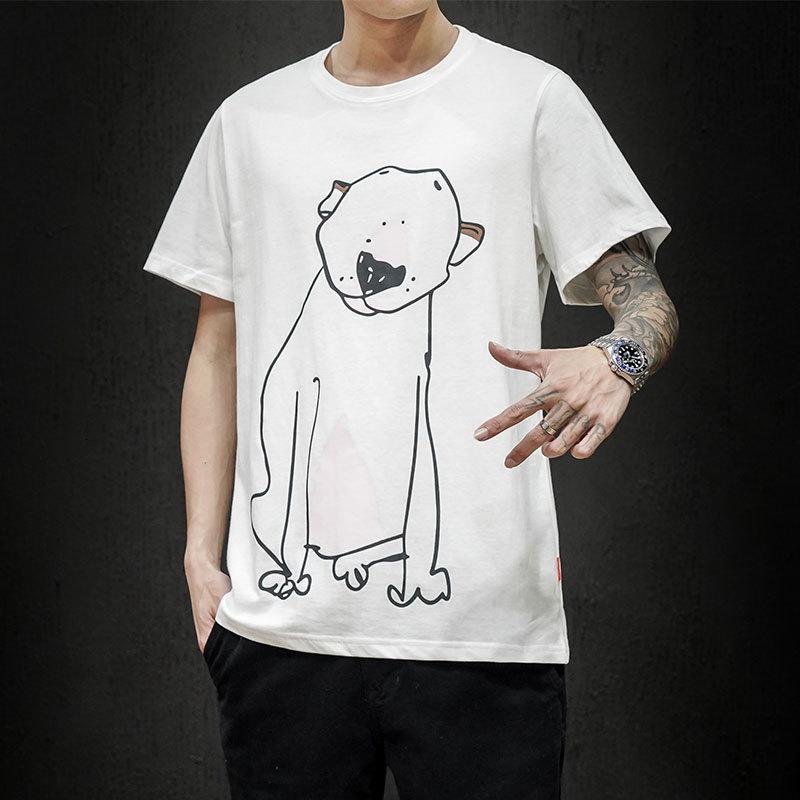 Mens Fashion T-shirt Summer Tshirts Male Streetwear Clothing Xxxtentacion Tshirt Cotton Tee for Men Oversized Tops & Te LLV3