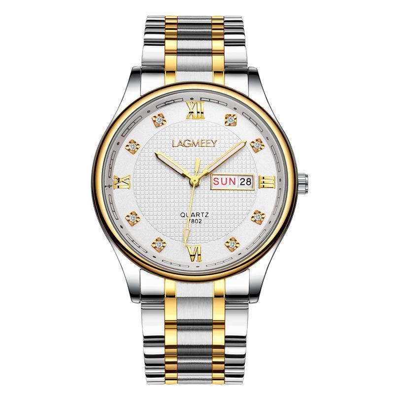 Armbanduhren reloj hombre 2021 top marke mode luxus stahl wasserdicht quarz armband watch für männer saat diamant business uhren hodinky