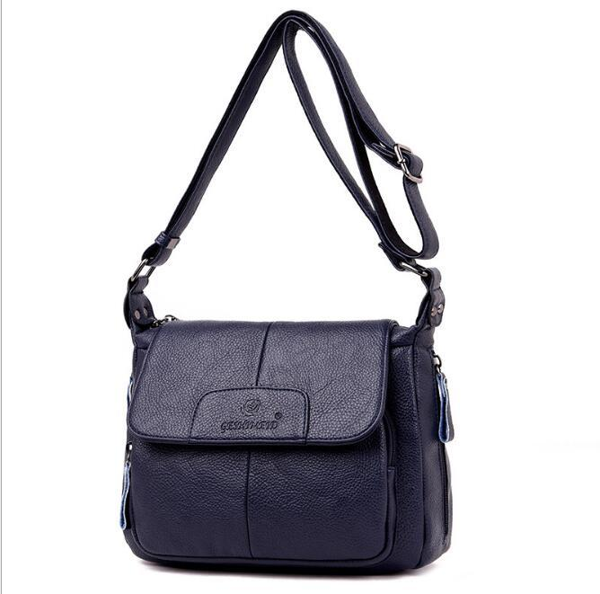 Elegant Female new Crossbody bag shoulder bags Fashion PU Leather Women's Handbag Chain Shoulder Messenger Bag