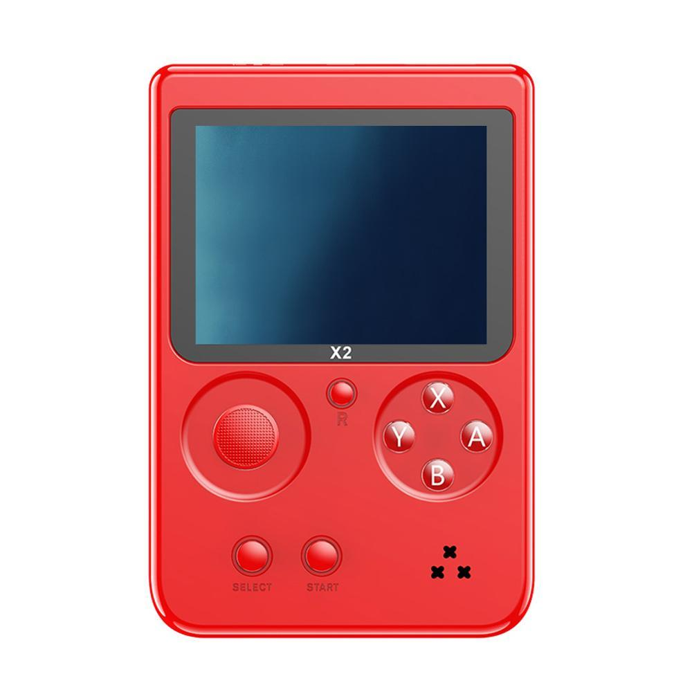 X2 2.8 inch Game Handheld Player Retro Game Console Built-in 2500 games Portable Gaming Video Player Rechargeable Game Console