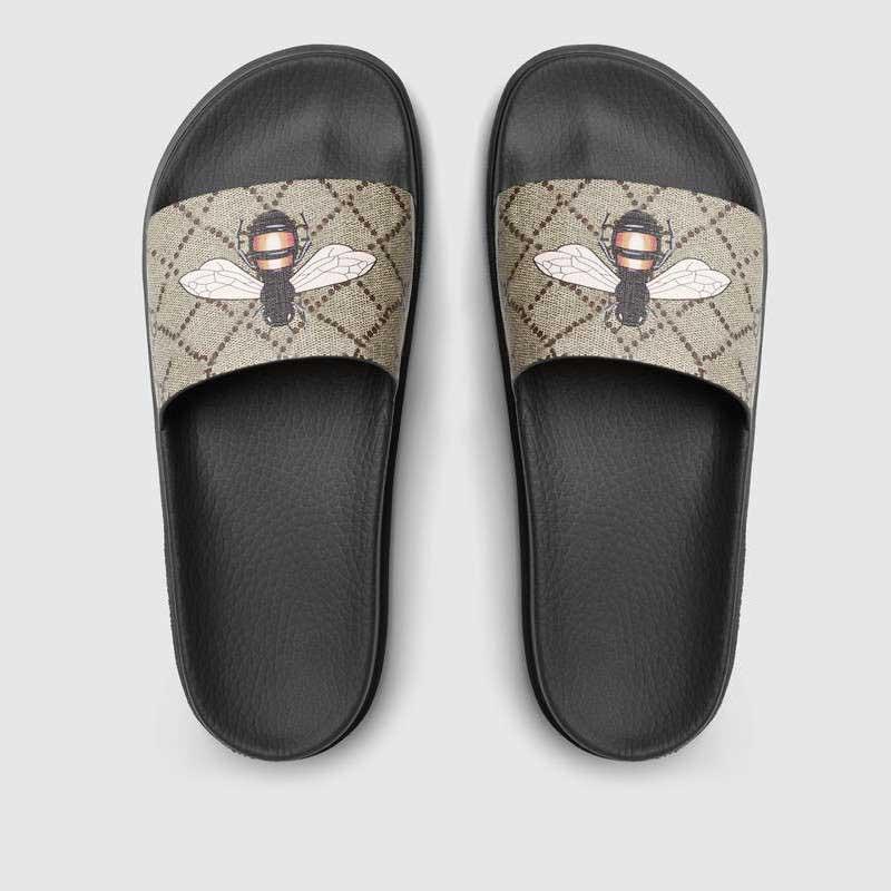 2021 الصيف جودة عالية النعال الصنادل الشرائح الأحذية عارضة مع مربع huaraches فليب يتخبط واسعة مسطحة المتسكعون أشعة الحجم 36-45 #GBH