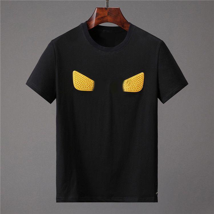 Herren T-Shirt Hohe Qualität Männer Frauen Paare Casual Kurzarm Rundhals-T-Shirts 5 Farben W852