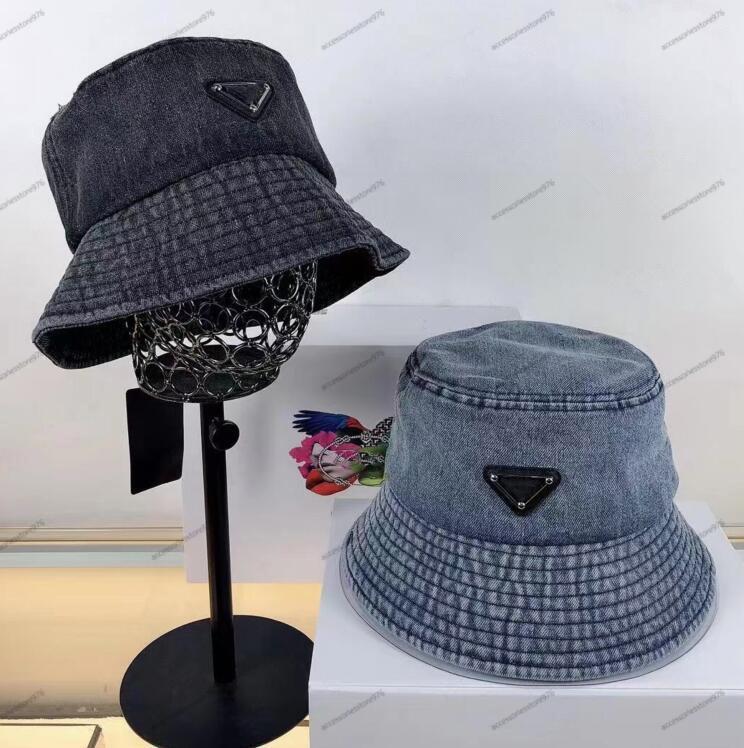 رسائل الشاطئ صياد كاب الصيف الجينز القبعات للرجال النساء جودة عالية عارضة للجنسين الدينيم دلو قبعات في الهواء الطلق شقة شمس كاب