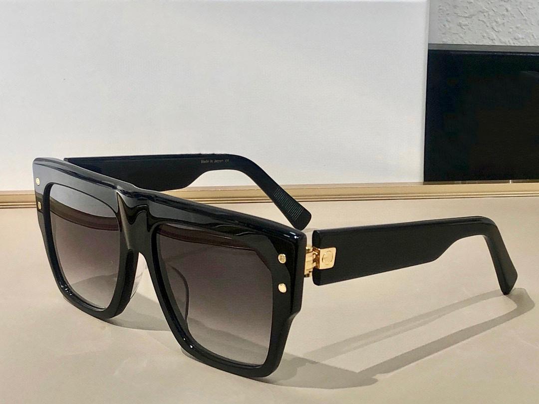 Óculos de sol para homens e mulheres estilo de verão 100 anti-ultravioleta placa retro quadro completo moda óculos aleatório caixa