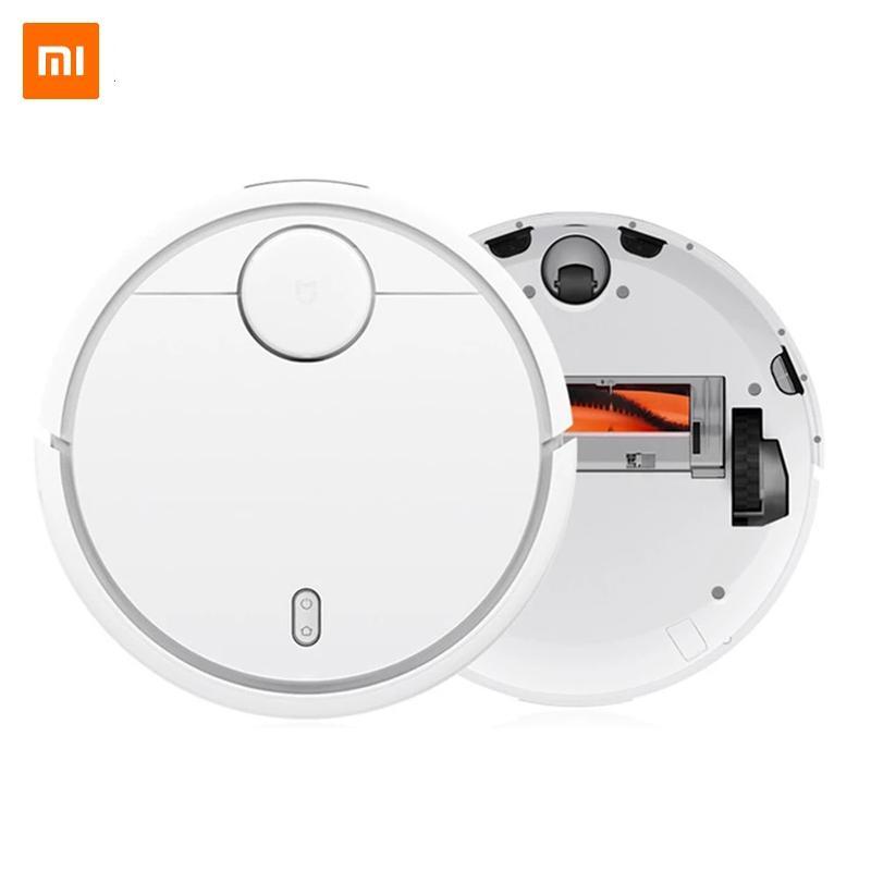 Aspirateur de robot Xiaomi MI original pour tapis à domicile Stériliser la poussière de balayage automatique Smart Planifié WiFi Mijia App Control
