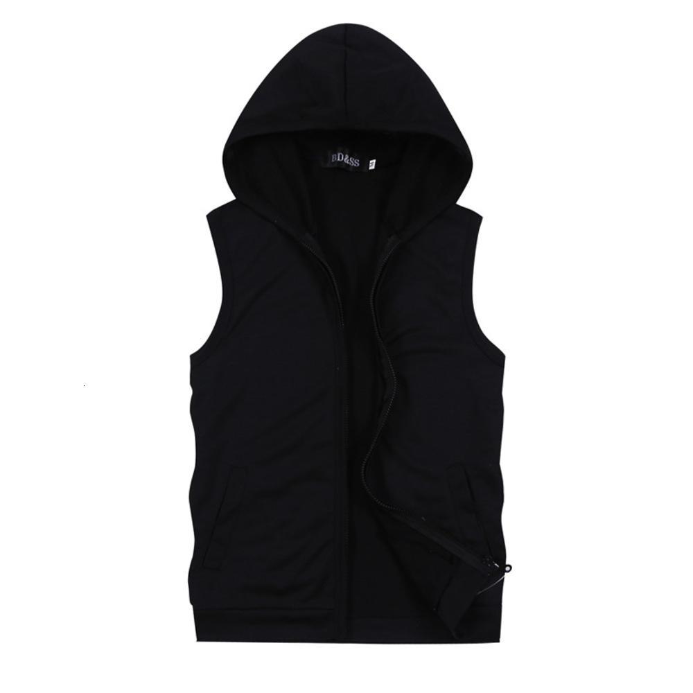 Корейский летний тонкий досуг спортивный открытый жилет без рукавов мужская пальто