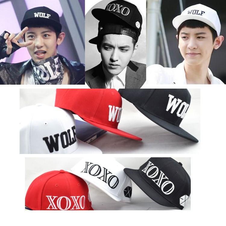 Coreano wol hip hop liso borda juventude baseball moda chapéu