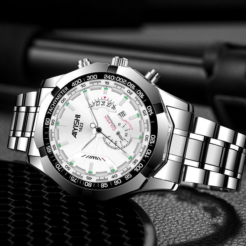 무료 배송 상위 브랜드 럭셔리 패션 다이버 시계 남자 30ATM 방수 날짜 시계 스포츠 시계 Mens Quartz Wristwatch Relogio Masculino
