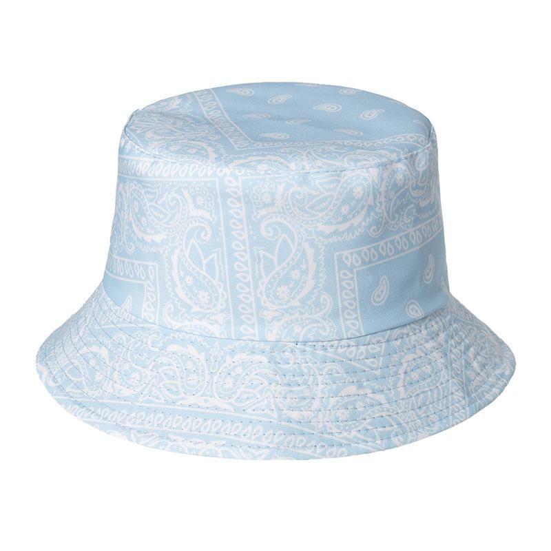 Harajuku Western Style Bucket Hat Men Women Fisherman Hat Spring Summer Outdoor Unisex Panama Sun Hats