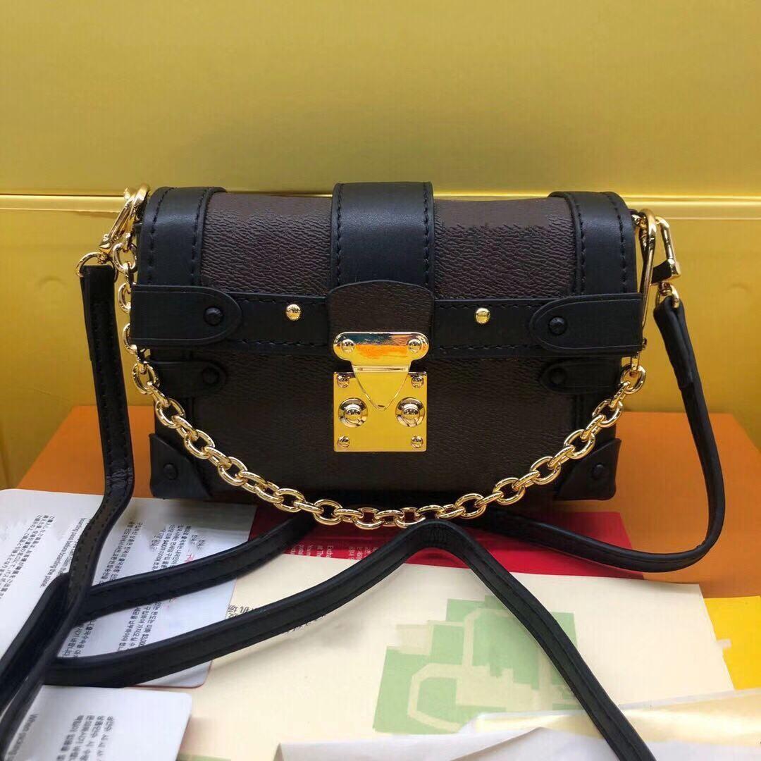 Mini bagagem caixa para mulheres moda saco crossbody com pinos de metal e bloqueio perfeito para pequenos tesouros senhoras pequenos sacos legais