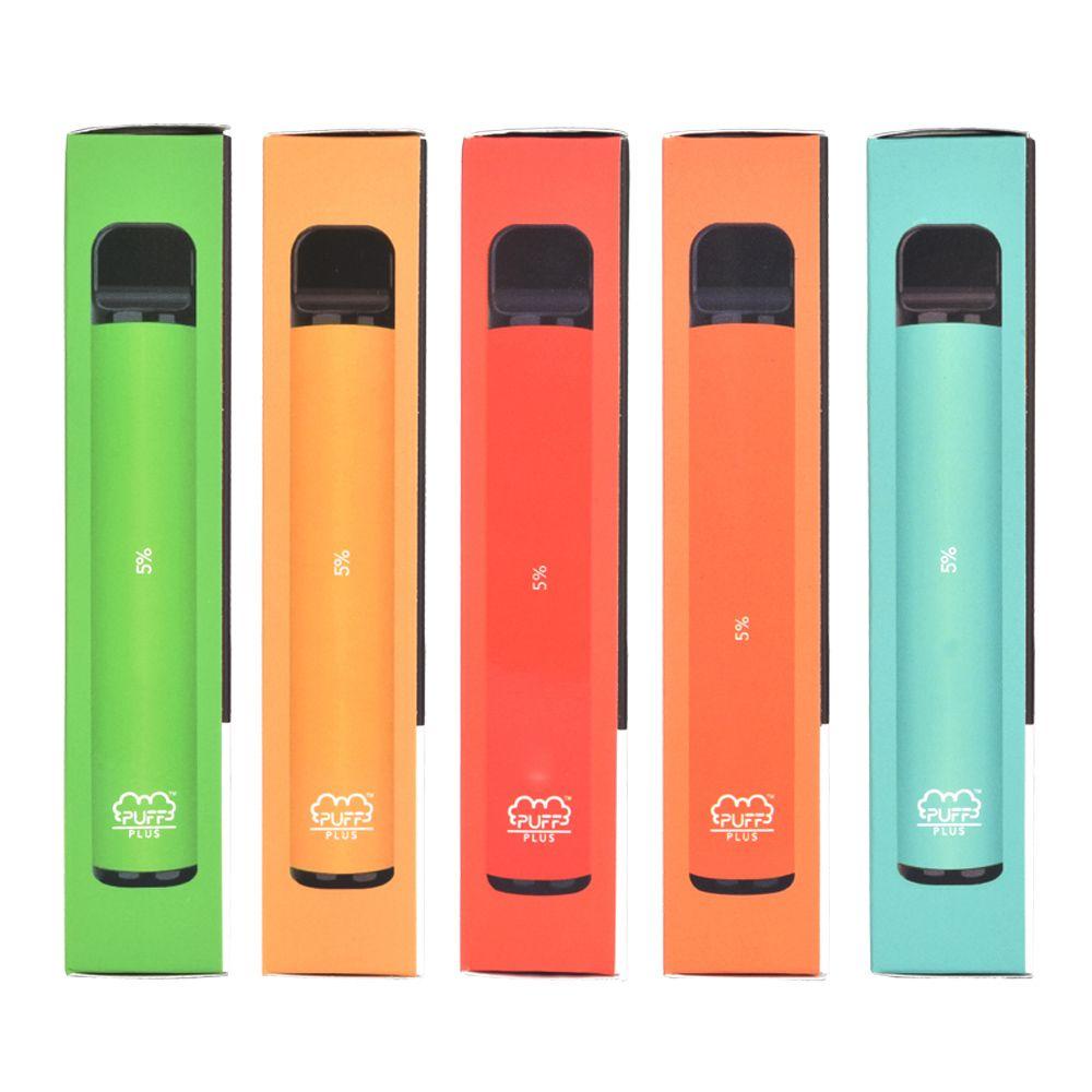 Puff Plus Einweggerät 3,2 ml 550mAh 800 Puffs Vorgefülltes System Vape-Stick Einweg-Stift-Puff-Balkenfluss
