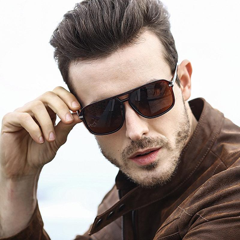 A523 Eyewear Mode Marke Designer Sonnenbrille Große Quadratische Tönungen Sonnenbrille Für Männer Die Seefahrt