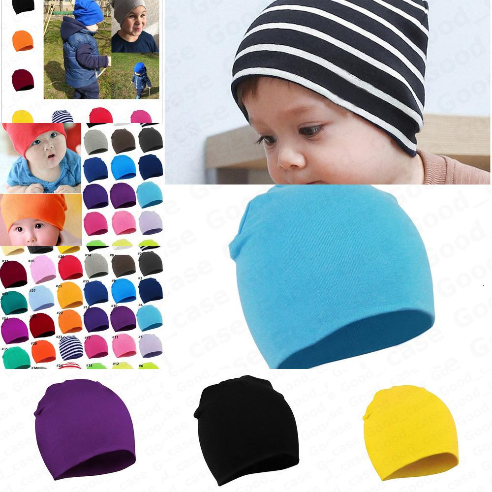 Dler nouveau-né bébé chapeaux chapeaux chaude chapeau chaude enfants garçons filles filles bonbons couleur tricoter chapeaux bébé oreillettes Bonnets Caps Caps Crâne Hats F101301 Wniz