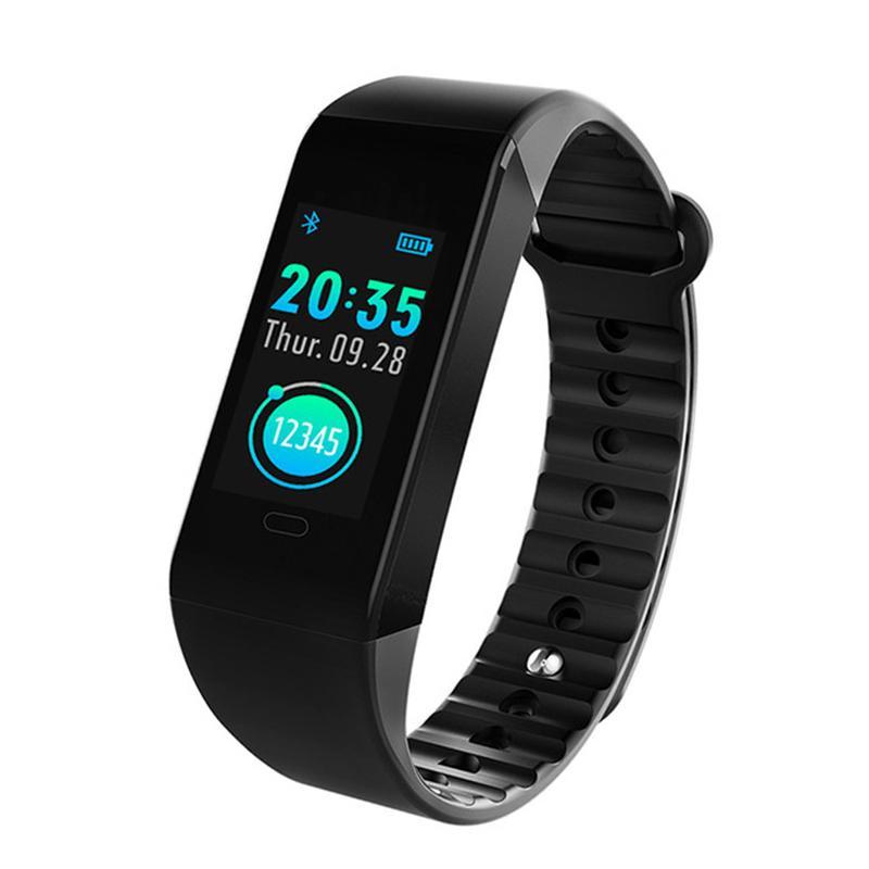 W6S سوار الذكية ووتش ضغط الدم القلب رصد معدل تعقب الذكية ساعة اليد مقاوم للماء بلوتوث ووتش لالروبوت اي فون ووتش