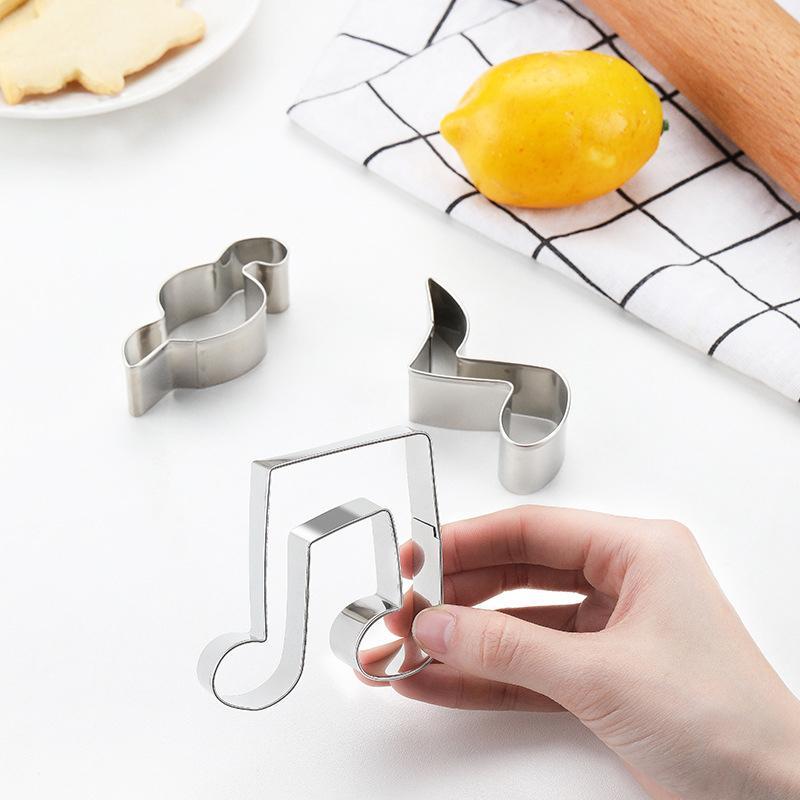 61 Galletas de estilo DIY Molde Estrella Cortador de Heart Hearting Moldes para hornear Aleación de aluminio Cortadores de galletas Plunger Plantillas Pasteles DDA694