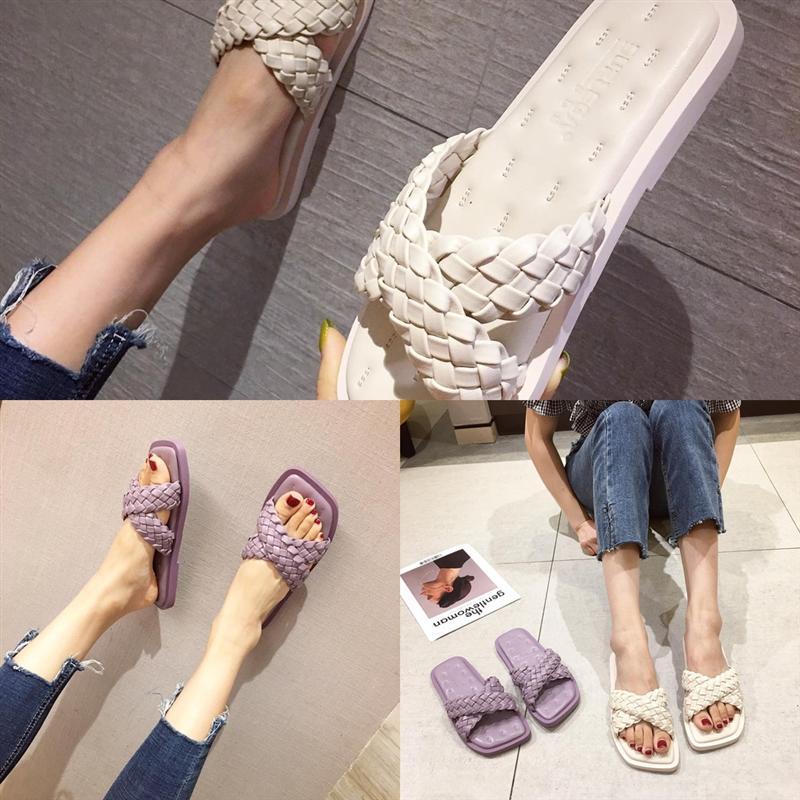 LBCYM Flip Womens Designer Summer Slip-on Slight Slipper Slipper Luxury Hard Wear-During Moda Ocio Zapatillas Playa Caminar Sagace Interior