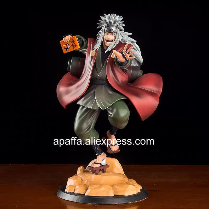 23cm 나루토 Shippuden 애니메이션 그림 나루토 jiraiya gama sennin 액션 그림 jiraiya uchiha sasuke hatake 카카시 입상 장난감 C0220