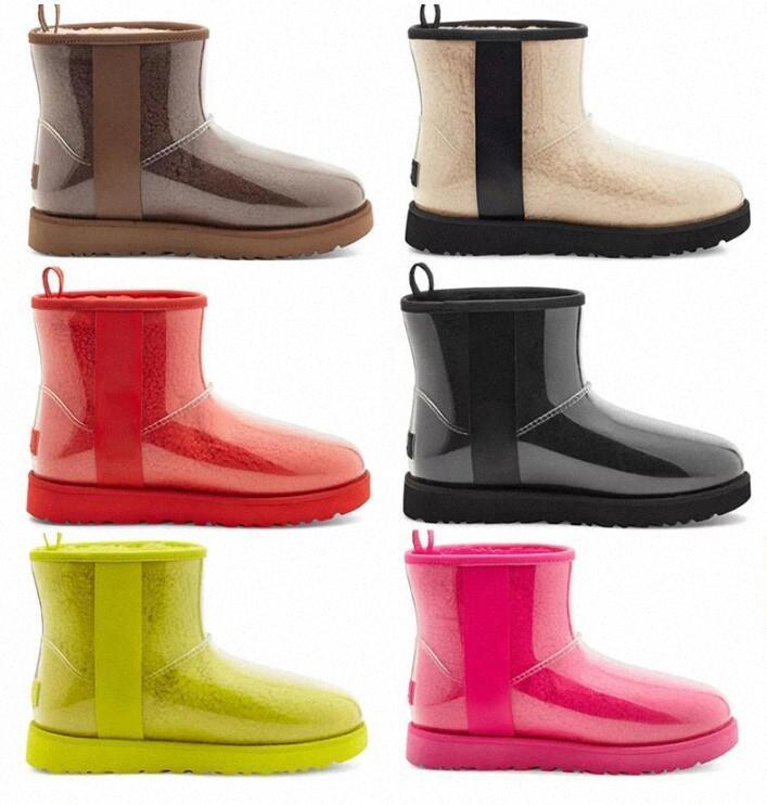 الكلاسيكية واضحة مصمم مصمم النساء أستراليا الأسترالية أحذية الشتاء ثلج الفراء فروي الحرير التمهيد 20 الكاحل الجوارب جلد ugg uggs في الهواء الطلق الأحذية 35-44