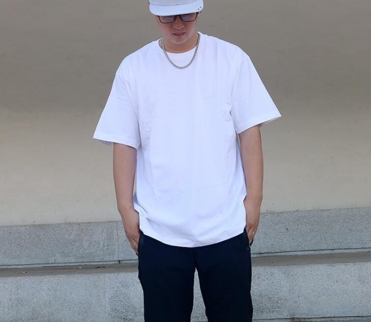 EY223 Neue 2021 Massive Schwarz Weiß Mens Frauen T-shirt Mode Männer S Casual t Shirts Mann Kleidung Straße Shorts Sleeve 21ss Kleidung Tshirts